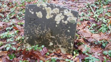Firman child, initials H. F. No further inscription..